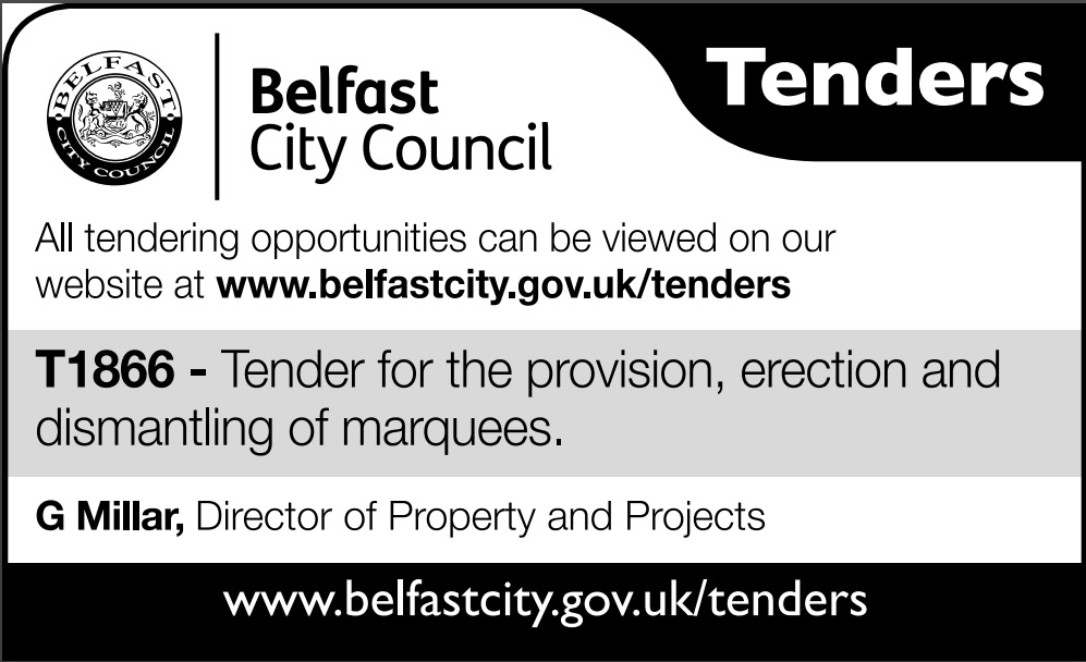 Belfast City Council Tender