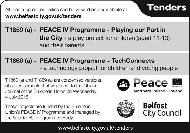 Belfast City Council - Tenders - Contracts & Tenders in Northern Ireland