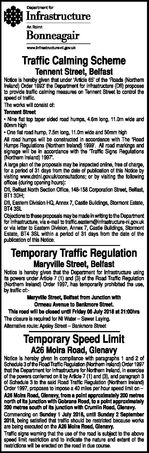 Traffic Calming Scheme