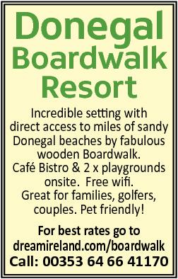 Donegal Boardwalk Resort  - Republic of Ireland Holidays