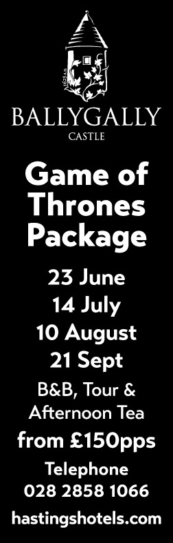Ballygally Castle - Game of Thrones Package