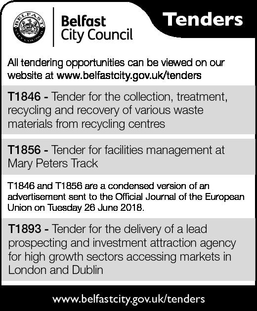 Belfast City Council Tenders