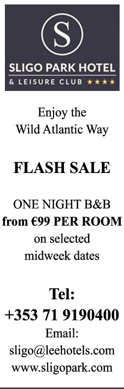 Sligo Park - Flash Sale - Republic of Ireland Holidays