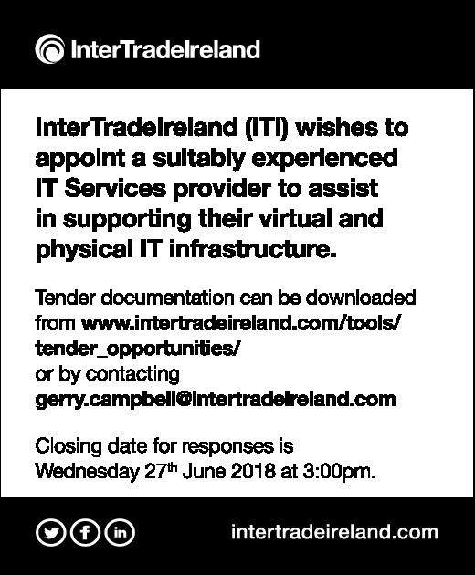 InterTradeIreland (ITI) wishes to appoint a suitably experienced IT Services provider  - Contracts & Tenders in Northern Ireland