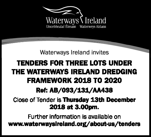 Tender Notice - Waterways Ireland