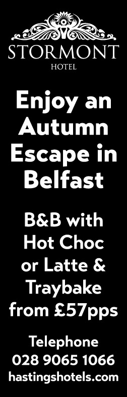 Enjoy an Autumn Escape in Belfast