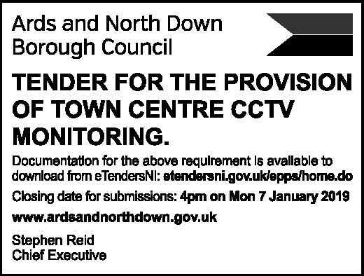 Tender for the provision of town centre CCTV monitoring