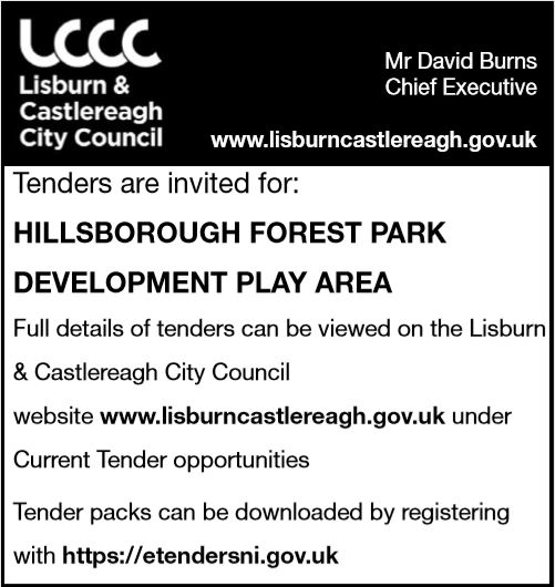 PLAY PARK EQUIPMENT TENDER