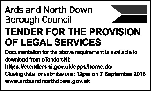 LEGAL SERVICES TENDER