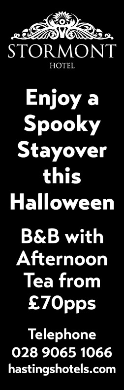 Enjoy a Spooky Stayover this Halloween