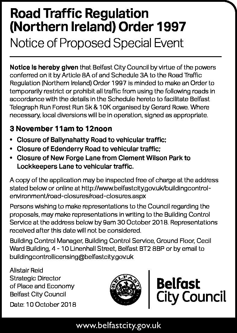 Belfast telegraph tenders dating