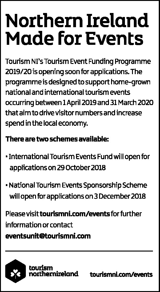 Tourism Event Funding Programme