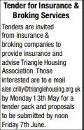 Tender for Insurance & Broking Services