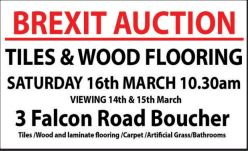 BREXIT AUCTION - Wooden Floors For Sale in Northern Ireland