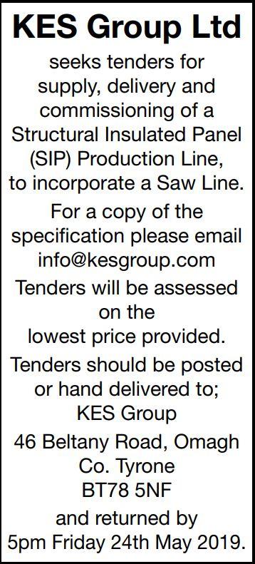 KES Group Ltd - Tender