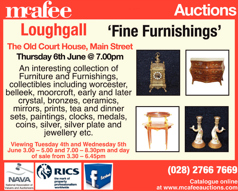 Mcafee Loughhall - 'Fine Furnishings'