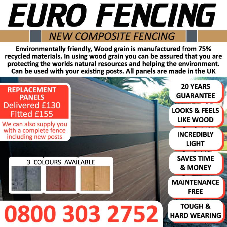 Euro Fencing - New Composite Fencing