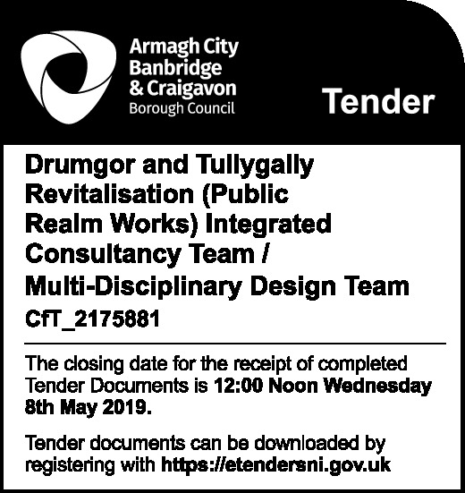 Drumgor and Tullygally Revitalisation - PUBLIC REALM WORKS