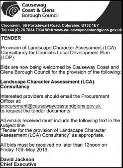 Landscape Character Assessment (LCA) Consultancy - TENDER