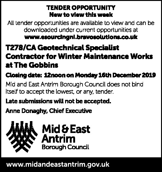 GEOTECHNICAL SPECIALIST CONTRACTOR