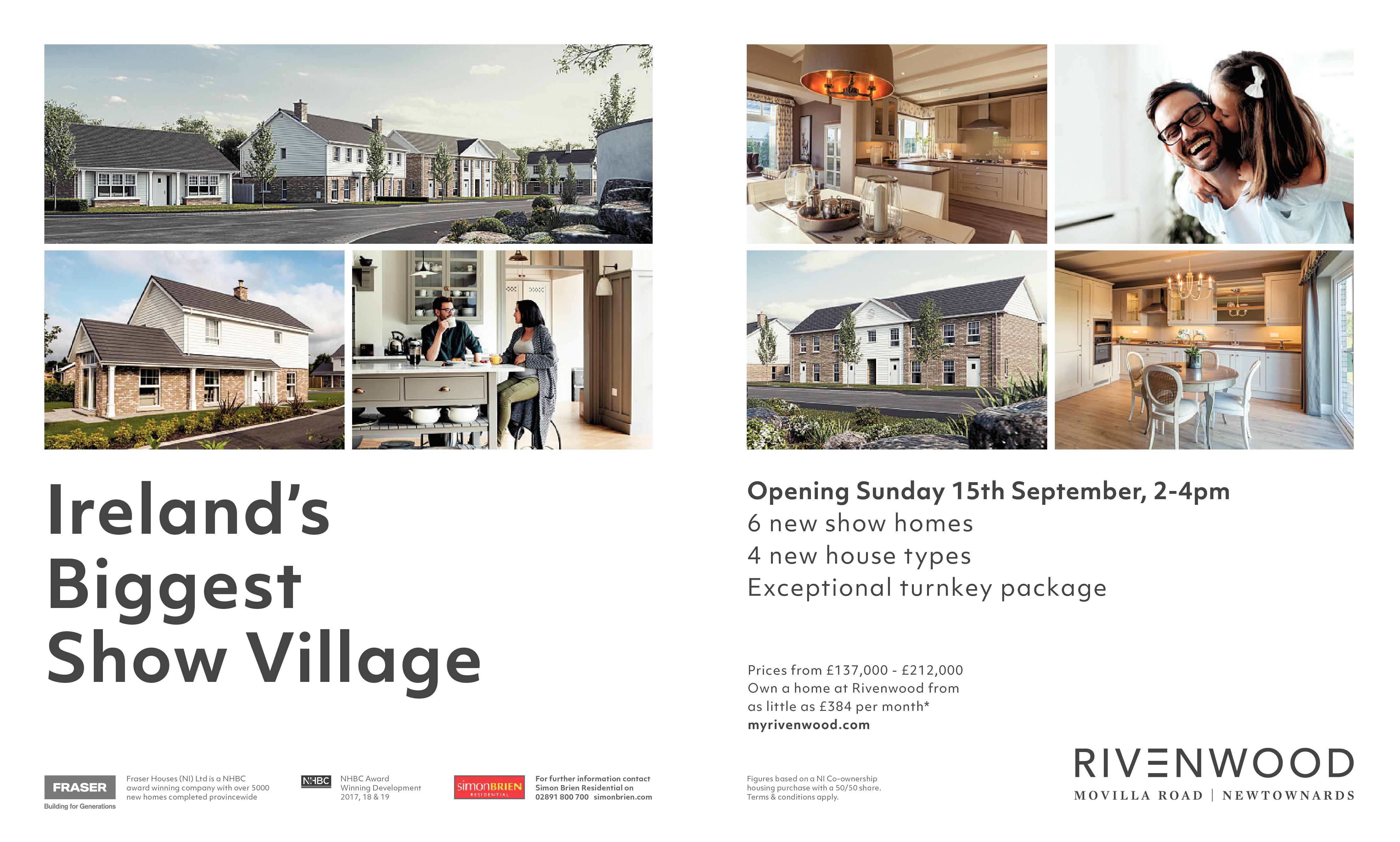 RIVENWOOD - Opening Sunday 15th September
