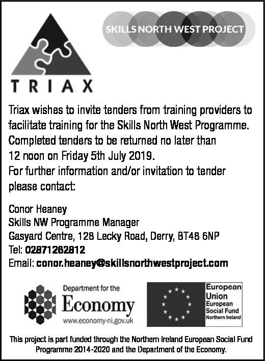 Triax Tender Notice