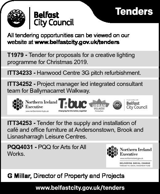 Belfast City Council Tender