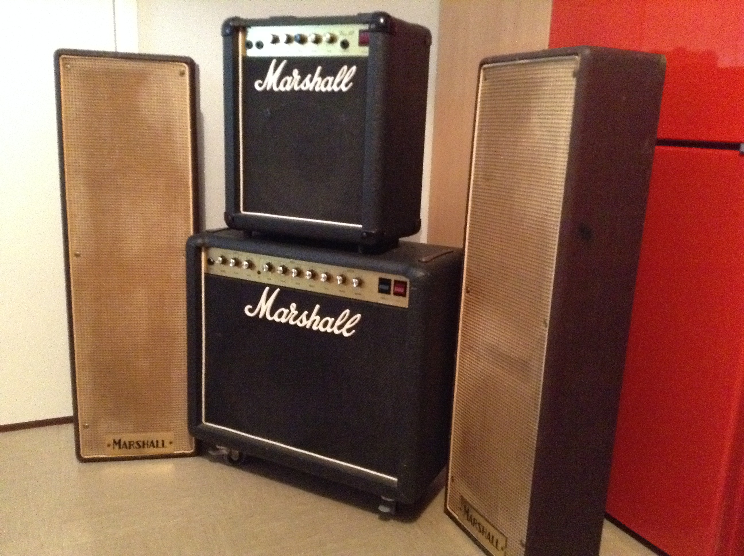 Old Amps And Cabs