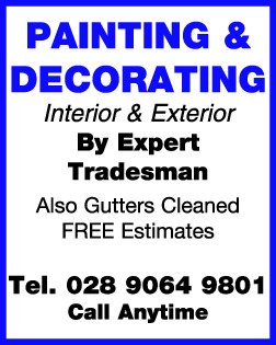 PAINTING & DECORATING - Painters & Decorators in Northern Ireland