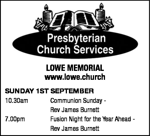 PRESBYTERIAN CHURCH SERVICES
