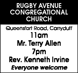 Rugby Avenue Congregational Church - CONGREGATIONAL LIST