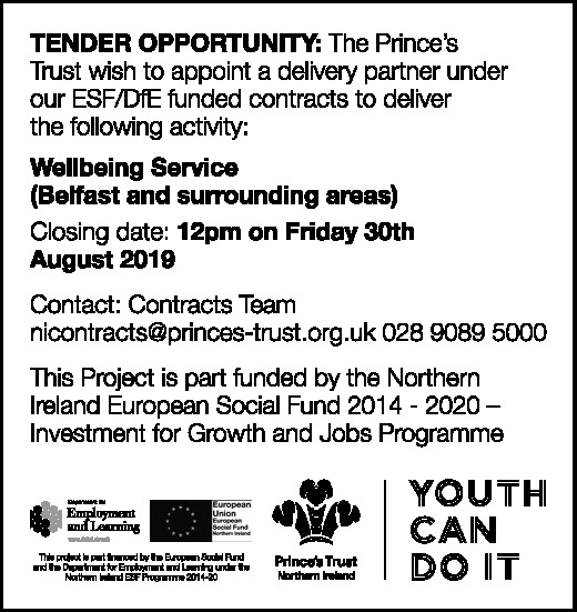Tender Opportunity - Well-being Service