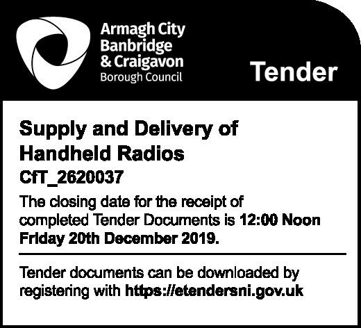 Armagh City, Banbridge & Craigavon - Tender