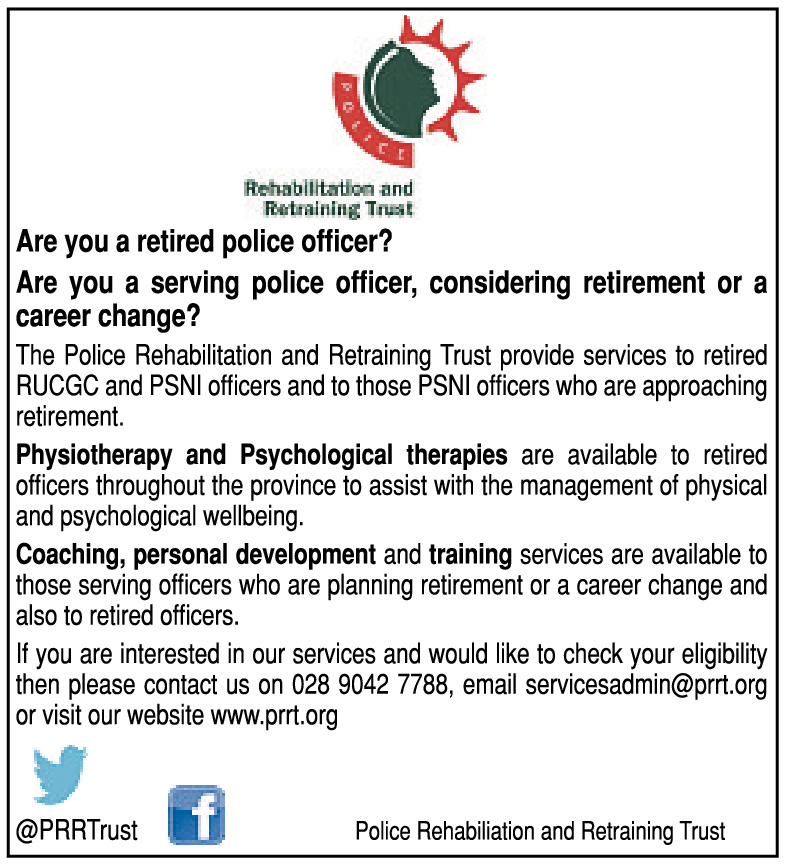 ARE YOU A RETIRED POLICE OFFICER?