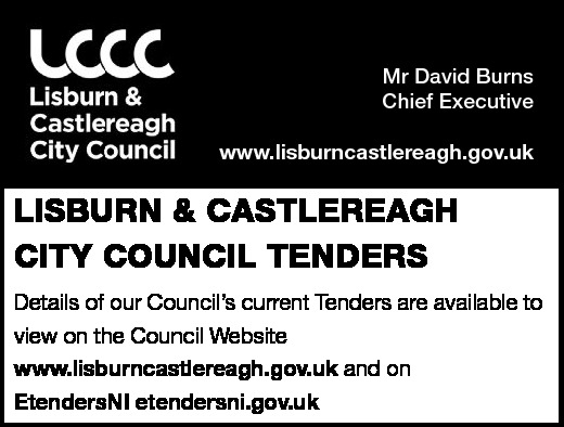 LISBURN & CASTLEREAGH CITY COUNCIL TENDERS