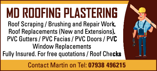 MD ROOFING PLASTERING