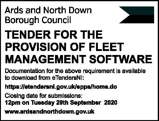Ards and North Down Borough Council - Tender