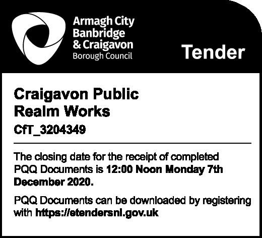Craigavon Public Realm Work - Tender