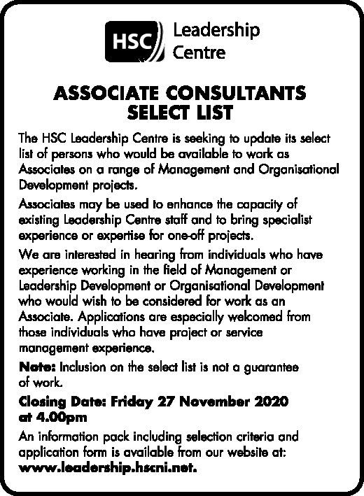 Associate consultants Select List