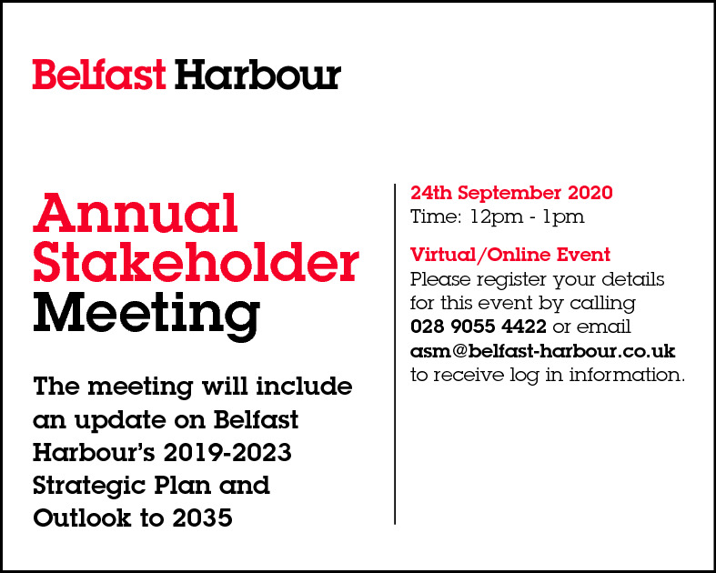 Belfast Harbour - Annual Stakeholder Meeting