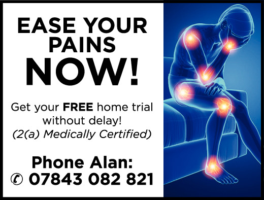 Ease your pains NOW