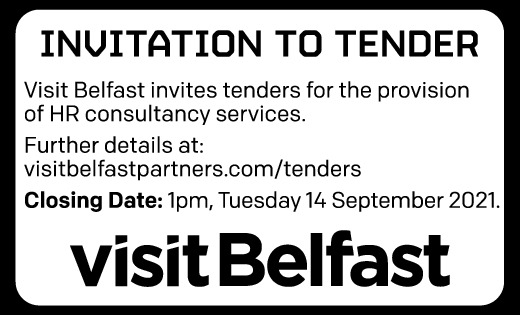 Visit Belfast Tender Notice