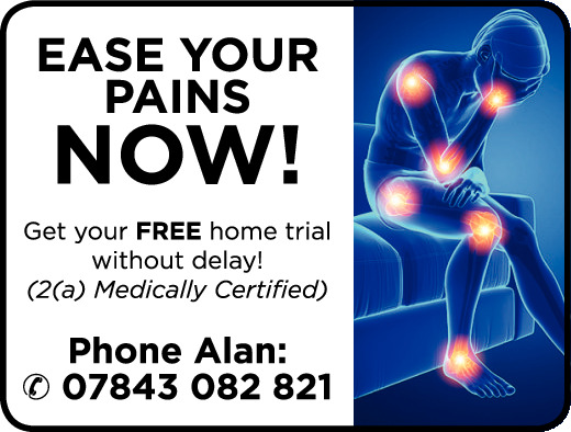 Ease your pains now!