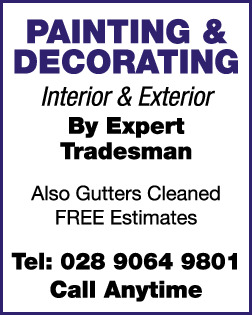 PAINTING SERVICES ADVERT