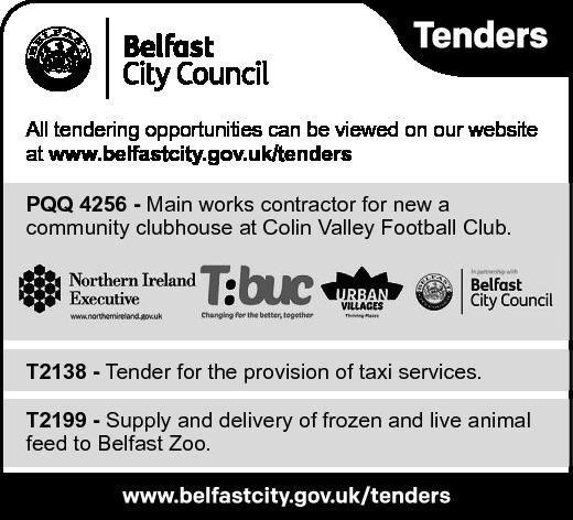 Belfast City Council - Tenders