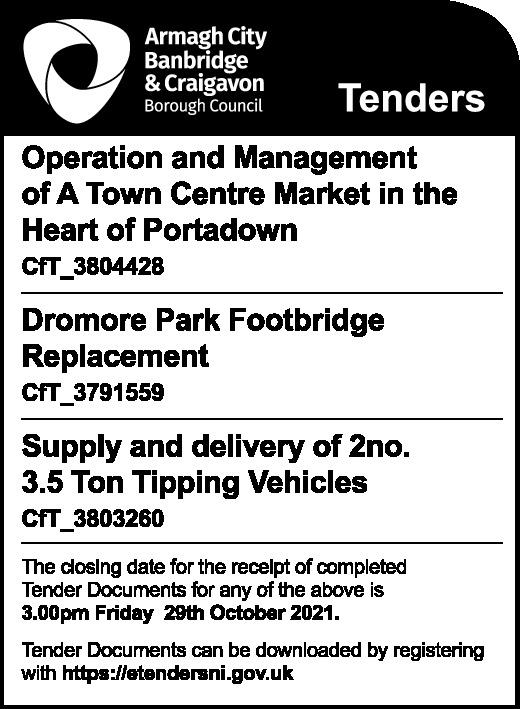 Armagh City, Banbridge & Craigavon Borough Council - Tenders