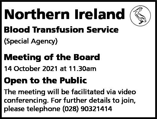 Northern Ireland Blood Transfusion Service